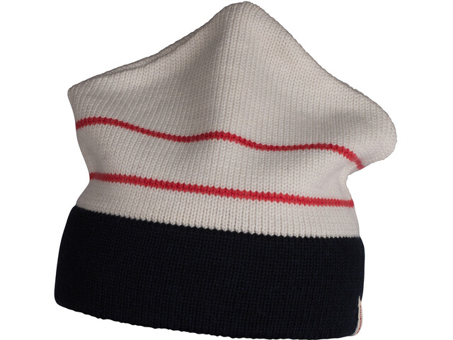 Amundsen Sports Vermont Hat Oatmeal Faded Navy/White Red Stripe